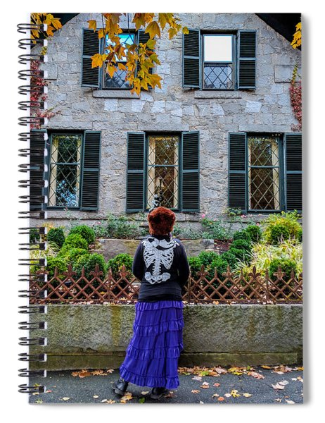 Can I Come In? Spiral Notebook