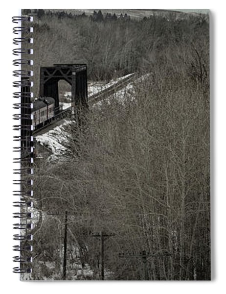 Canadian Pacific Holiday Train 2018 I Spiral Notebook