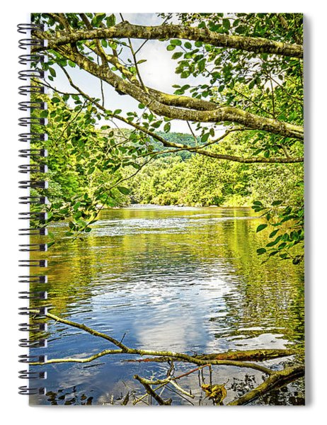 Canal Pool Spiral Notebook