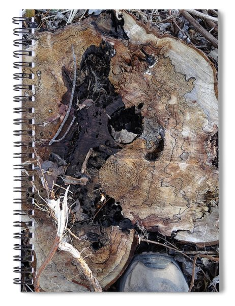 Canal Stumps-015 Spiral Notebook