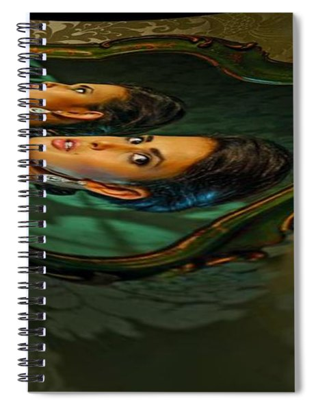 Canary Seaweed Spiral Notebook