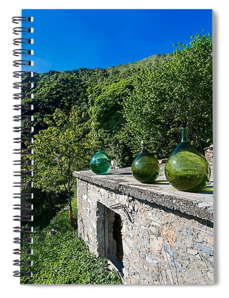 Canate Di Marsiglia Abandoned Place Lungo L'alta Via Dei Monti Liguri Spiral Notebook