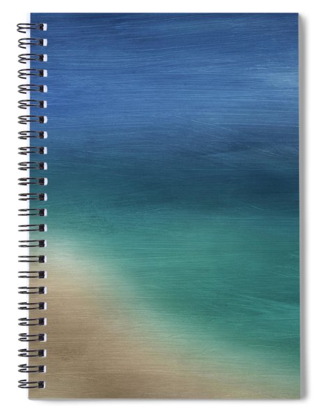 Cancun Coast- Art By Linda Woods Spiral Notebook