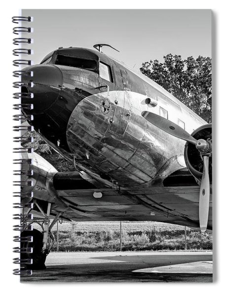 Candler Field Express In Morning Light Spiral Notebook