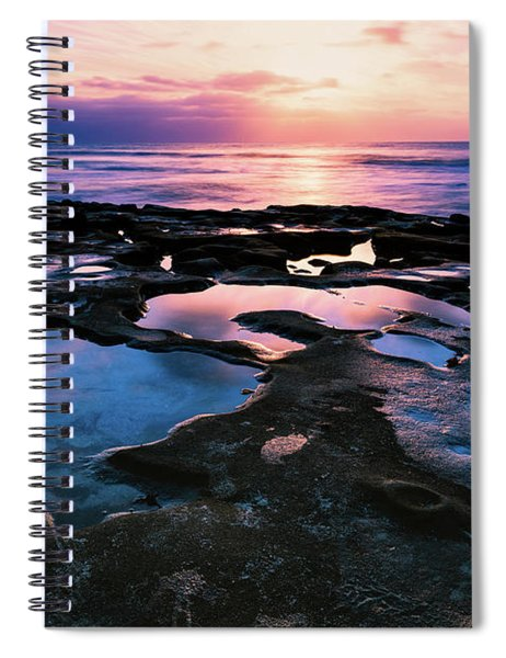 Candy Colored Pools Spiral Notebook