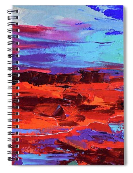Canyon At Dusk Spiral Notebook