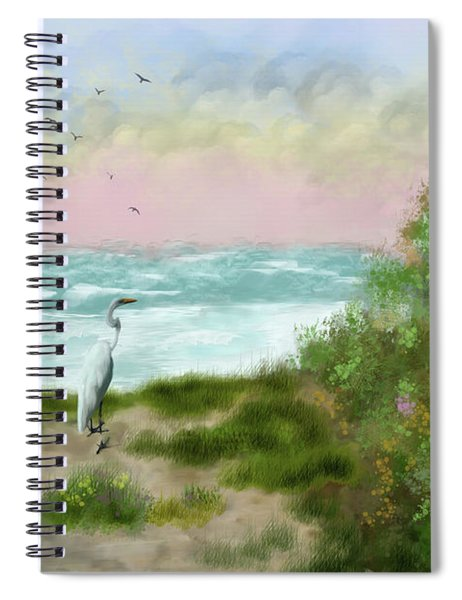 Cape Cod Beach Spiral Notebook