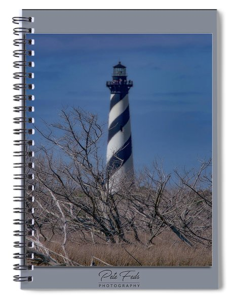 Cape Hatteras Lighthouse Spiral Notebook