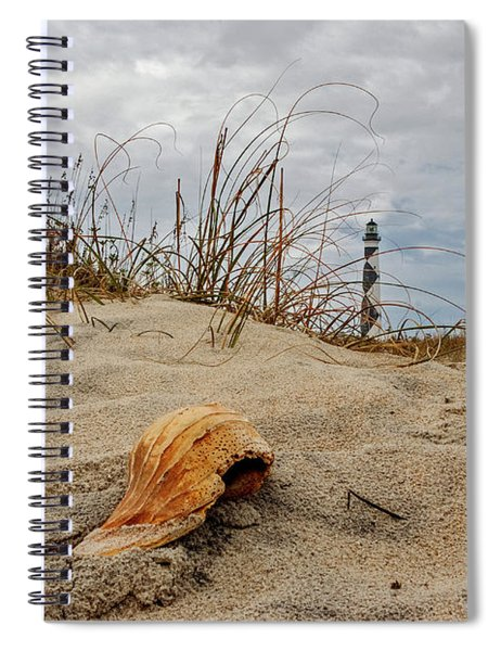 Cape Lookout Lighthouse Spiral Notebook