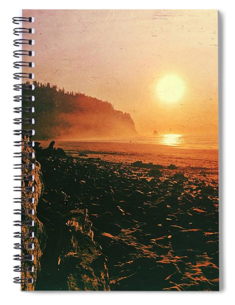 Cape Meares Beach Spiral Notebook