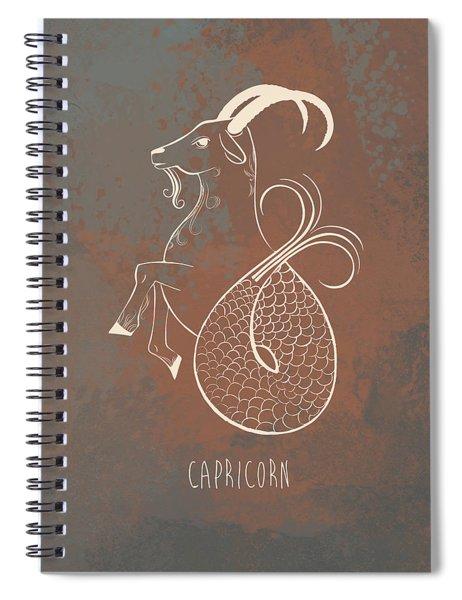 Capricorn  Spiral Notebook