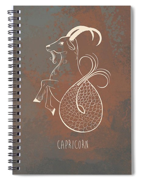 Capricorn  Spiral Notebook
