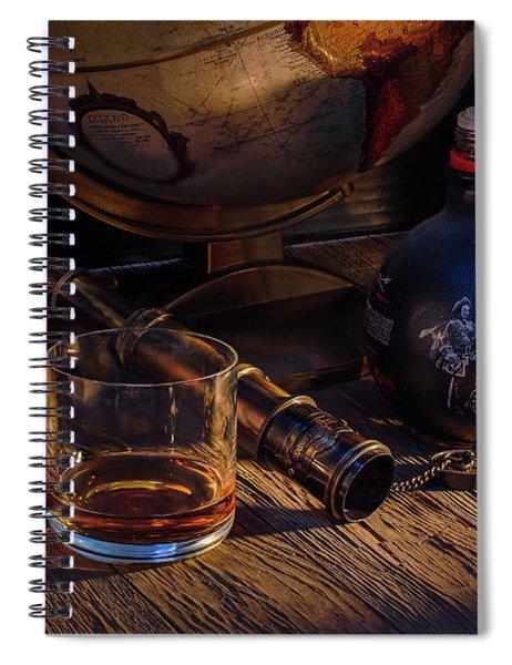 Captain Morgan Spiral Notebook