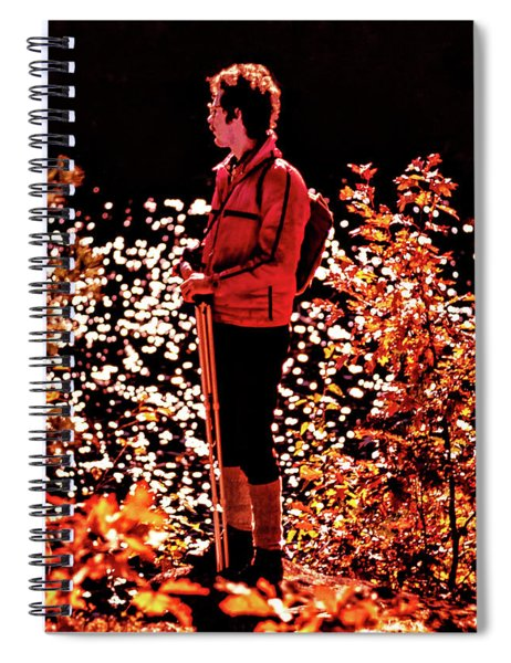 Capturing Autumn Light Spiral Notebook