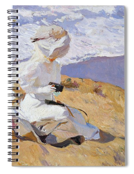 Capturing The Moment, 1906  Spiral Notebook