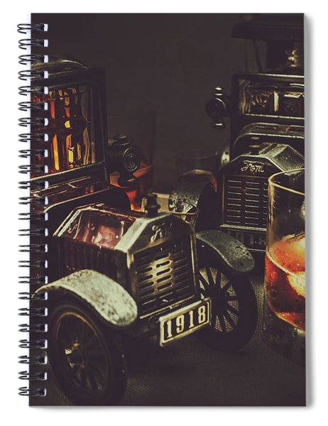 Car Club Spiral Notebook