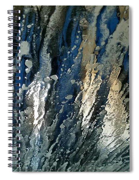 Car Wash Blues Spiral Notebook