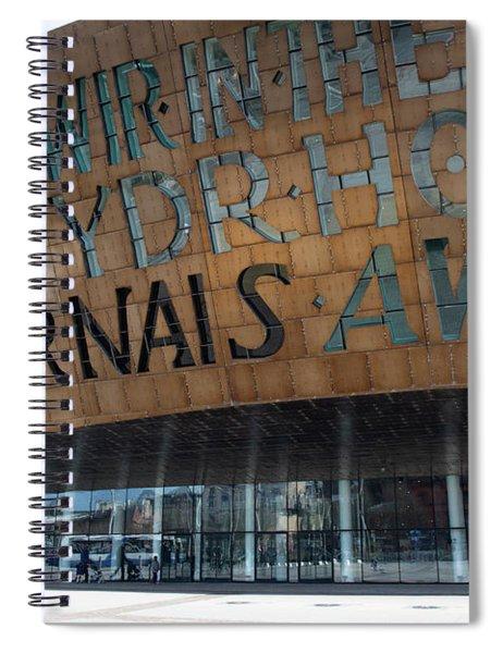 Cardiff Photo 7 Spiral Notebook