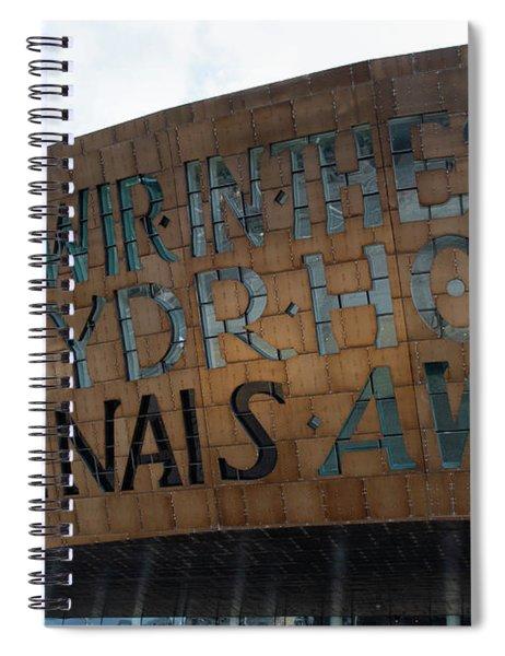 Cardiff Photo 8  Spiral Notebook