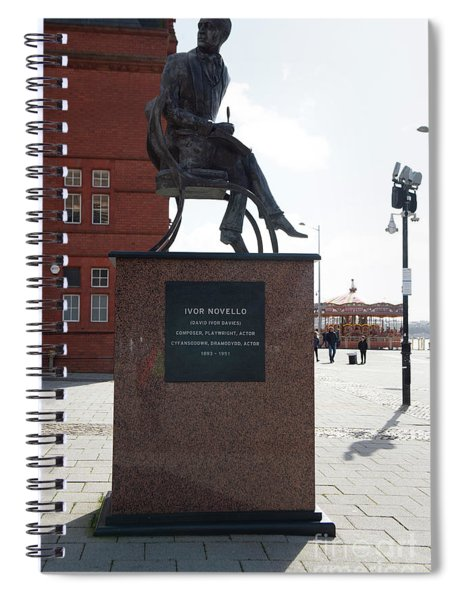 Cardiff Photo 9 Spiral Notebook