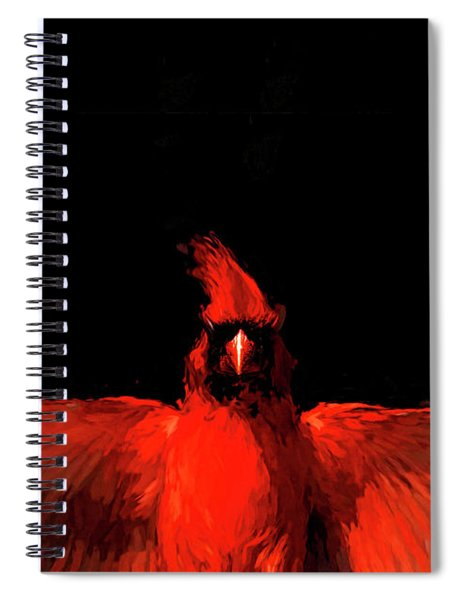 Cardinal Drama Spiral Notebook