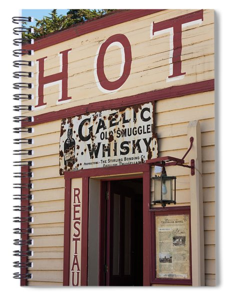 Cardrona Hotel, Cardrona, Otago, South Spiral Notebook