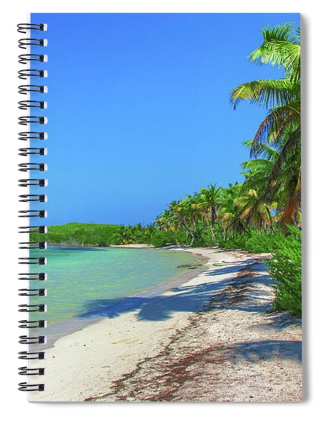 Caribbean Palm Beach Spiral Notebook