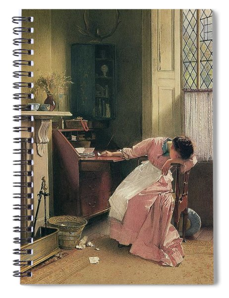 Carlton Alfred Smith British, 1853-1946,  Recalling The Past , 1888 Spiral Notebook