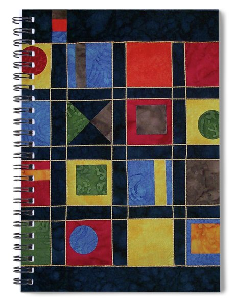 Carnival Of Colors Spiral Notebook