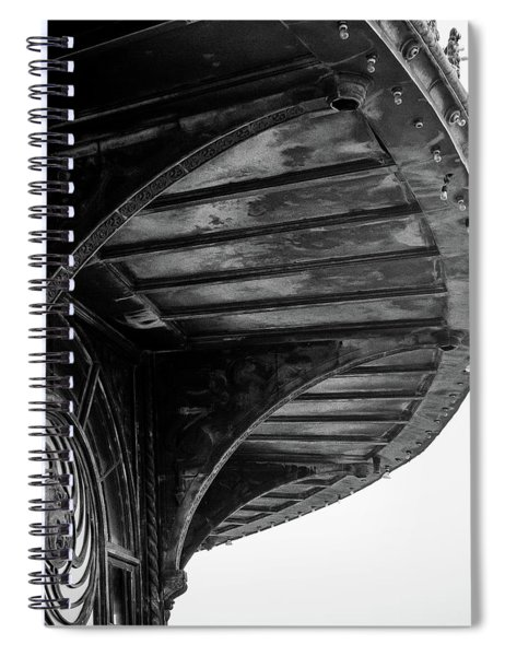 Carousel House Detail Spiral Notebook