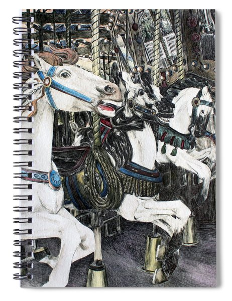 Carousel Of Dreams Spiral Notebook