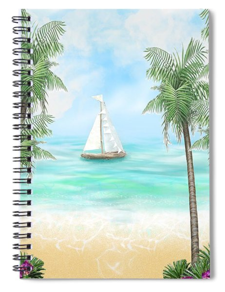 Carribean Bay Spiral Notebook