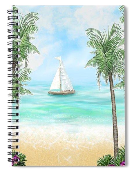 Carribean Bay Spiral Notebook