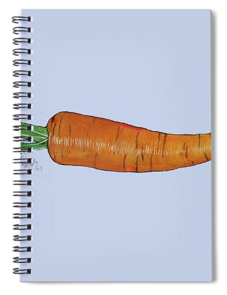 Carrot Spiral Notebook