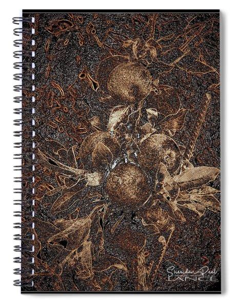 Carved Apples Spiral Notebook