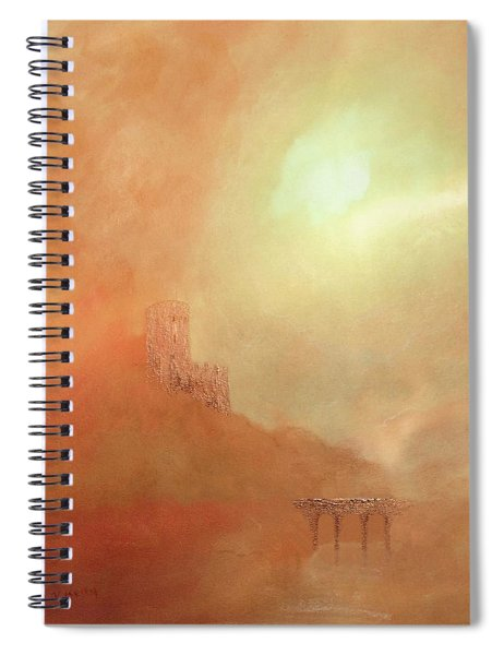 Castles In The Air Spiral Notebook by Valerie Anne Kelly