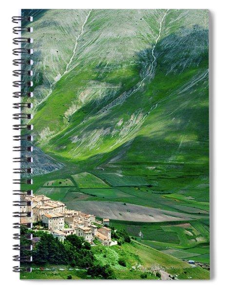 Castelluccio Spiral Notebook by Brian Jannsen