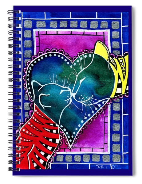 Cat Mom Love Spiral Notebook