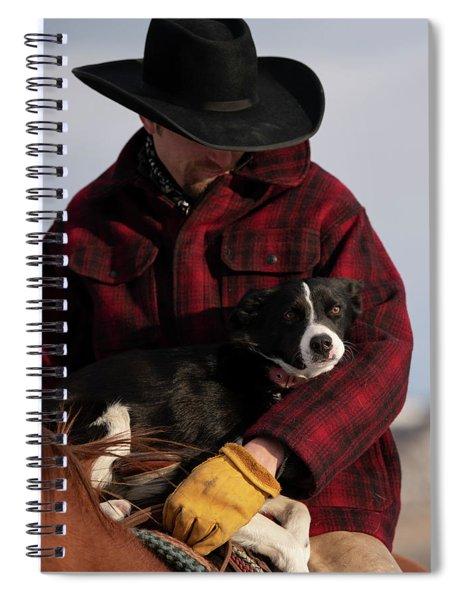 Catch Ride Spiral Notebook
