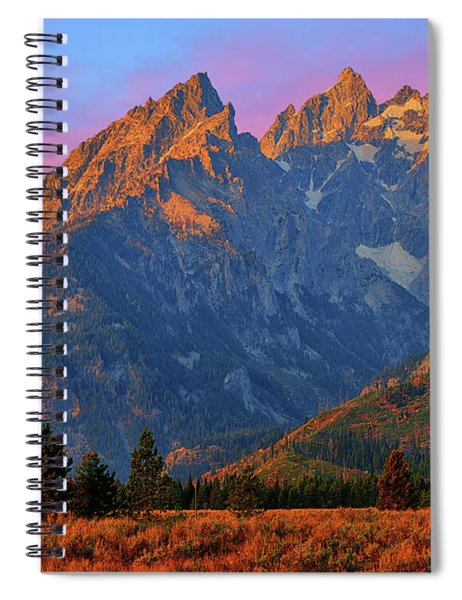 Cathedral Dawn Spiral Notebook by Greg Norrell