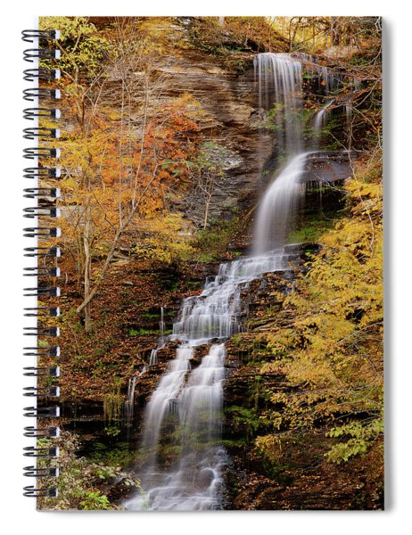 Cathedral Falls Spiral Notebook