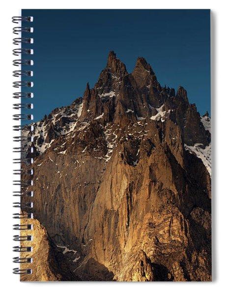 Cathedral Of Passu Spiral Notebook
