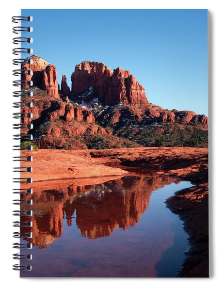 Cathedral Rock Reflection II Spiral Notebook