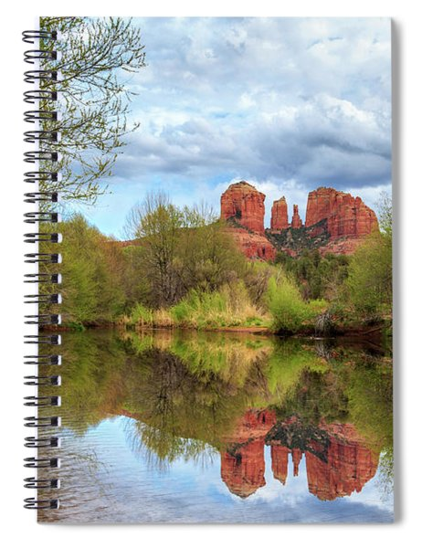 Cathedral Rock Reflection Spiral Notebook