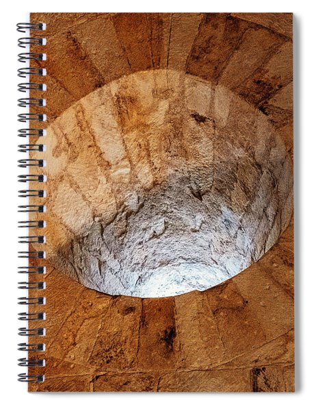 Cathedral Window Spiral Notebook
