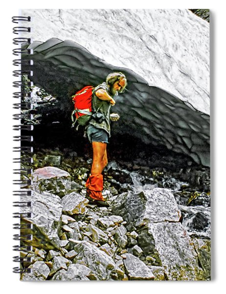 Cave Man Spiral Notebook