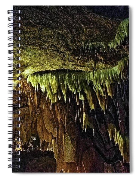 Cave Shields Hdr Spiral Notebook