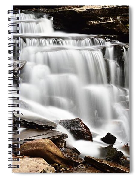 Cayuga Falls Spiral Notebook