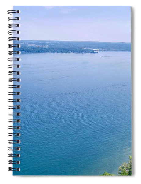 Cayuga From Above Spiral Notebook