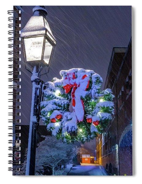 Celebrate The Season Spiral Notebook